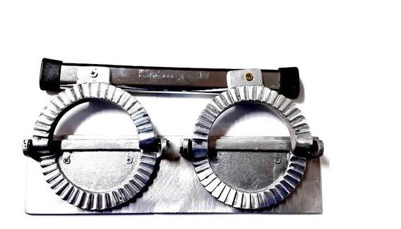 Cierra Empanadas Aluminio Doble Repulgue Gastronómico 12 Cm