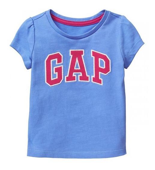 Camiseta Gap Menina E Menino Manga Curta Modelos Legítimos