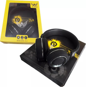 Kit3 Headset Bluetooth + Fm + Mp3 + Entrada Sd