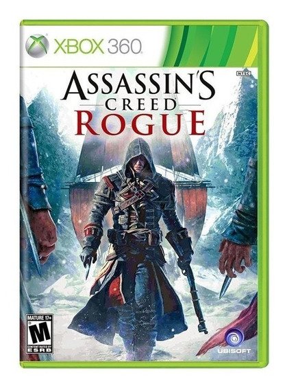 Jogo Assassins Creed Rogue Xbox 360 E Xbox One