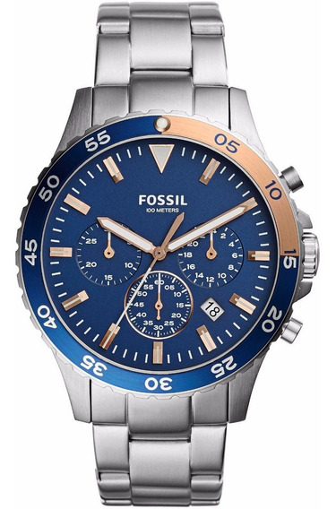 Relógio Masculino Fossil Crewmaster - Ch3059 ( Nota Fiscal )
