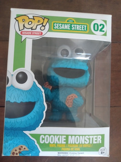 Funko Pop Cookie Monster 02 Sesame Street Vaulted