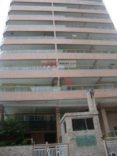 Imagem 1 de 22 de Apartamento À Venda, 92 M² Por R$ 370.000,00 - Tupi - Praia Grande/sp - Ap1034
