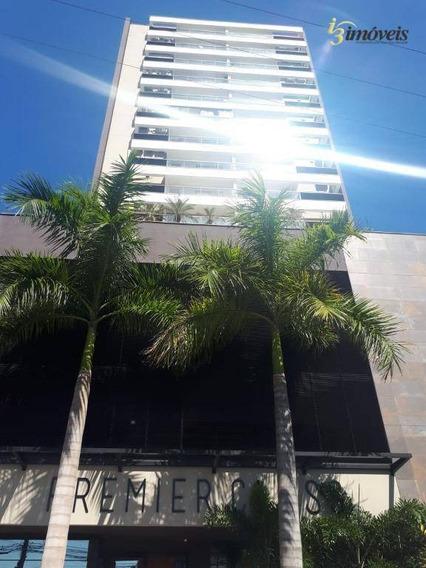 Aluga Apartamento Premier Class 01 Suíte Centro Vista Mar Mobiliado Total Infraestrutura - Ap1797