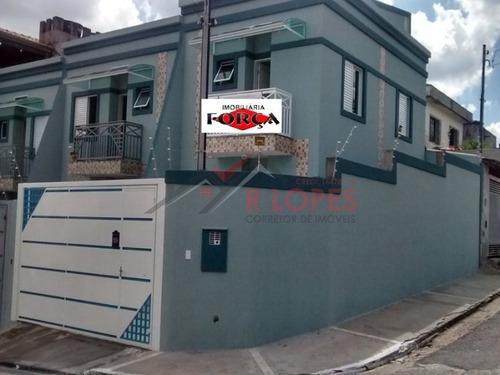 Imagem 1 de 20 de Sobrado Para Venda No Bairro Jardim Cotinha, 2 Dorm, 2 Suíte, 2 Vagas, 90,00 M - 1038