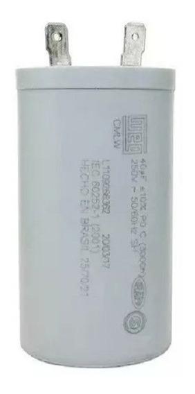 Capacitor De Maquina Electrolux 42,5uf 250vac 127v 64500226