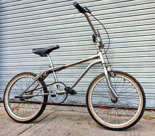 Bicicleta Bmx Salto Freestyle Cromada Rodado 20 Buen Estado.