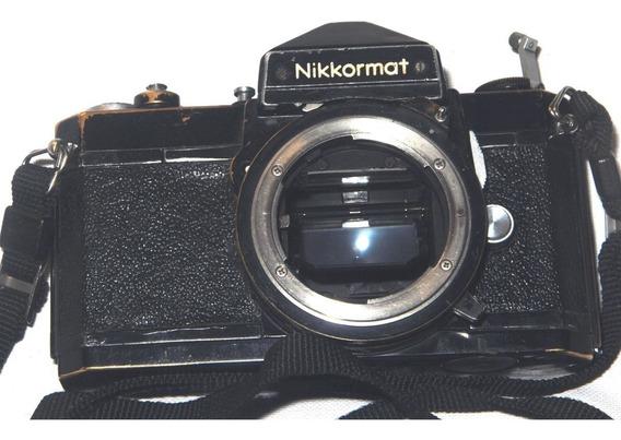 Cámara Nikkormat-de Rollo 35mm Función Mecanica.solo Cuerpo.