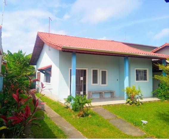 Casa Com Lindo Quintal No Bopiranga Em Itanhaém Litoral Sul