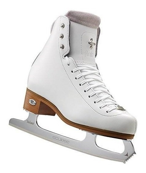 Riedell 91 Flair - White Girls Figure Skate Wide 3.5