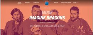 Ingresso Meia Rock In Rio 6/10 - Muse E Imagine Dragons