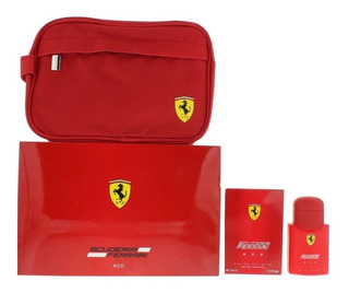 Perfume Ferrari 40ml Set - Scuderia Red (edt 40ml + Pouch)