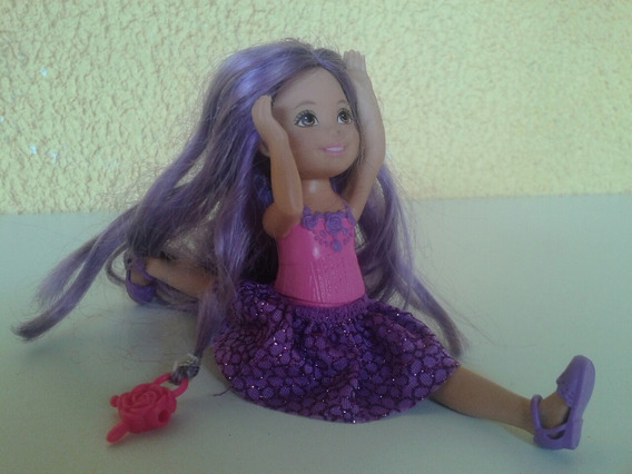 Boneca Kelly Cabelo Longo Barbie Original
