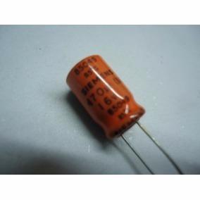 5x Capacitor Eletrolítico 470uf X 16v Elco