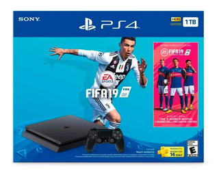 Play Station 4 1tb + Fifa 19