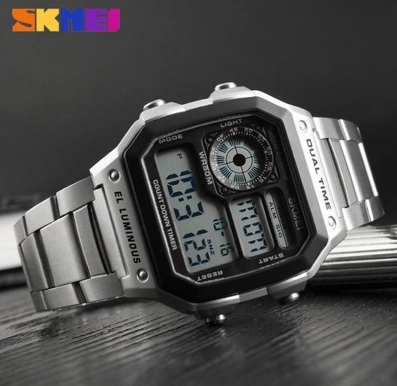 Skmei Relógio Digital Masculino À Prova D