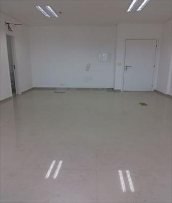 Sala Em Vila Mathias, Santos/sp De 42m² Para Locação R$ 1.900,00/mes - Sa203898