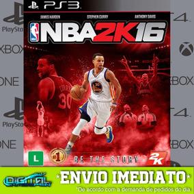 Nba 2k16 Ps3 Psn Midia Digital Envio Rapido!