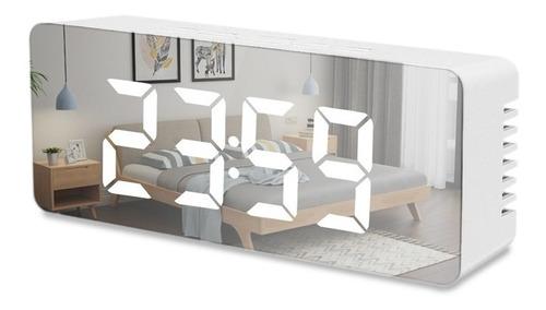 Reloj Digital Led Luminoso Usb Con Despertador
