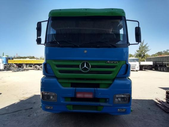 Mercedes Benz Axor 2540 - Pronto Para Trabalhar