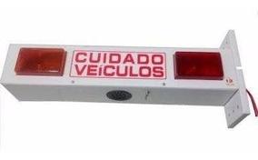 Sinalizador Led P/ Portão Automático C/alarme Bivolt