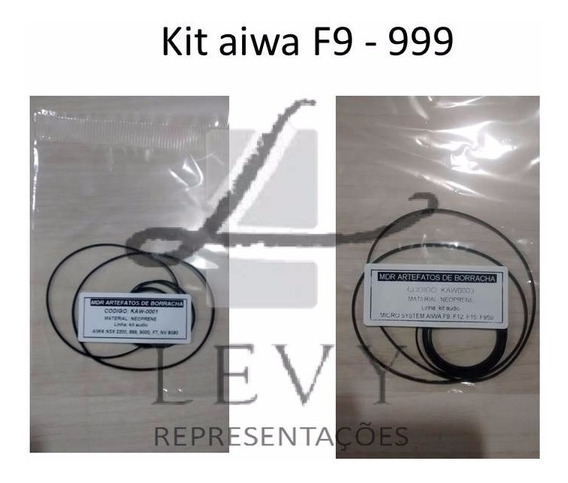 Kit Correias Aiwa 01- F9 , + 01- 2200, 999 Frete Incluso