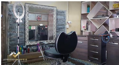 Salão Para Alugar, 150 M² Por R$ 2.500,00/mês - Parque João Ramalho - Santo André/sp - Sl0205