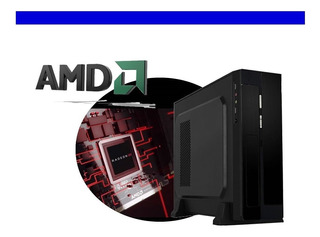 Oferta Cpu Slim Amd Dual Core 1.3ghz 4gb 160gb Vv4
