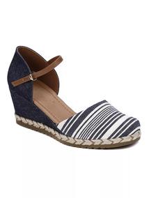d63ea914c4 Sandalia Anabela Azul Bebece - Sapatos no Mercado Livre Brasil