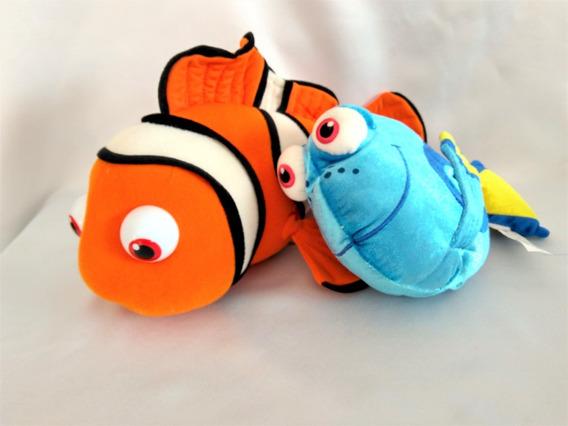 Pelucias Procurando Nemo E Dori Usados Originais
