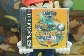 Big Race Usa Pro Pinball Playstation 1 Excelente Cond.