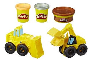 Play Doh Wheels Excavadora Y Cargadora Hasbro E4294