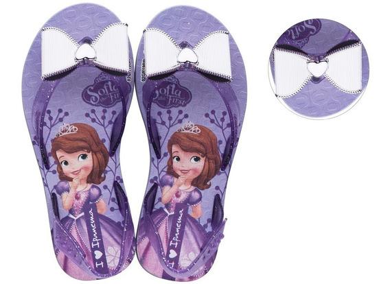 Sandália Infantil Ipanema Disney Frozen Sofia 26418 Promoção