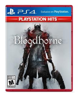 Bloodborne Ps4 Físico Sellado Versión Español Latino