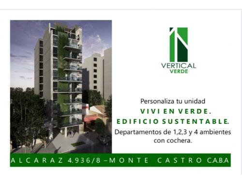 Departamento  En Venta Ubicado En Monte Castro, Capital Federal, Buenos Aires