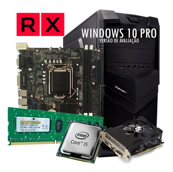 Pc Gamer Core I5 2310, Rx 550 2 Gb, Ssd 120gb, 8 Gb +brinde