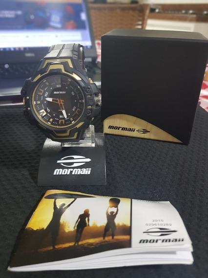 Relógio Mormaii Masculino Preto