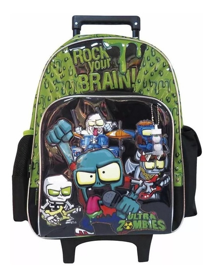 Mochila Con Carro Zombie Infection Om250 Original 18