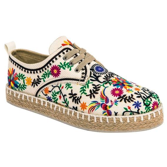 Zapato Casual Dama Poupee 600 Beige 22-26 U76416 T2