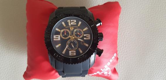 Reloj Swiss Legend Commander Caballero Original