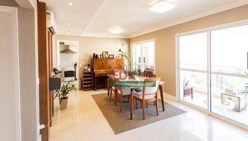 Imagem 1 de 18 de Apartamento Com 3 Dormitórios À Venda, 133 M² Por R$ 1198.000 - Jardim Esplanada - Condomínio Esplanada Life Club - São José Dos Campos/sp - Ap8885