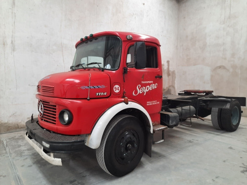 Imagen 1 de 9 de Mercedes Benz  1114 Tractor/plato Original