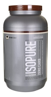 Whey Protein Isopure 1,36kg Cookies Nature