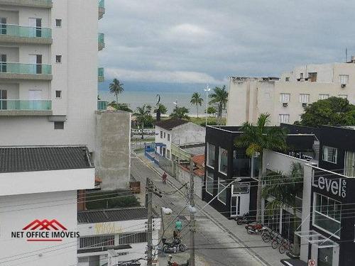 Imagem 1 de 13 de Apartamento Com 3 Dormitórios À Venda, 128 M² Por R$ 450.000,00 - Centro - Caraguatatuba/sp - Ap0550