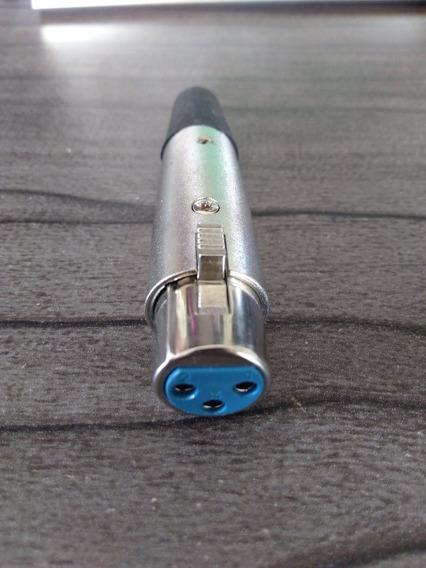 Conector Xlr Canon Femea (10 Unidades)