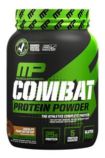 Combat 100% Whey Muscle Pharm Mp 907g Chocolate Ao Leite