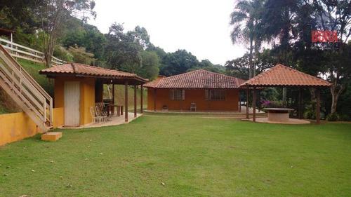 Chácara Com 6 Dormitórios À Venda, 1800 M² Por R$ 500.000,00 - Mato Dentro - Mairiporã/sp - Ch0305