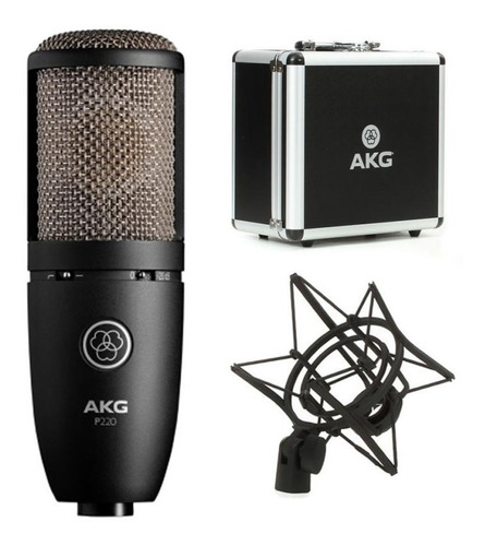 Akg P220 Project Line Microfono Condenser Grabacion Voces