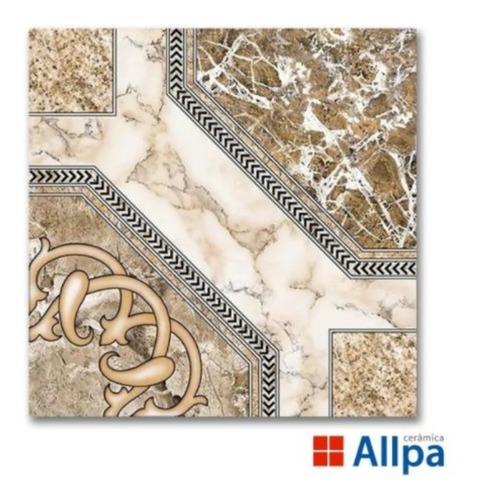 Ceramica Piso Catedral Beige Allpa Alberdi 46x46 Marmolada