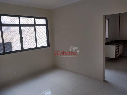 Apartamento Com 1 Dormitório À Venda, 65 M² Por R$ 300.000,00 - Campo Grande - Santos/sp - Ap0416